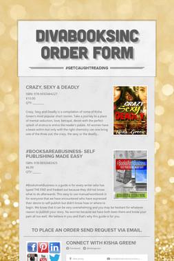 DivaBooksInc Order Form