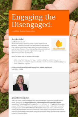 Engaging the Disengaged: