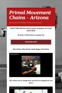 Primal Movement Chains - Arizona