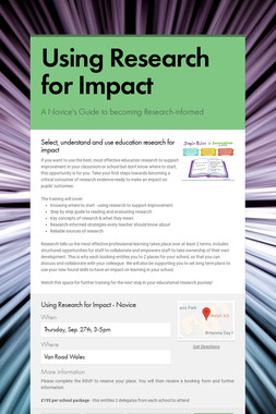 Using Research for Impact