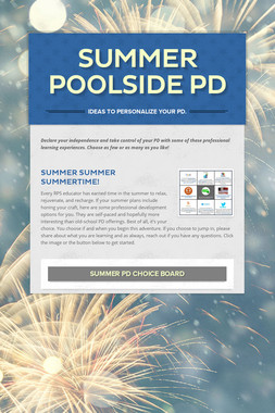 Summer Poolside PD