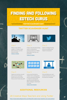Finding and Following EdTech Gurus