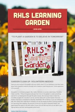 RHLS Learning Garden