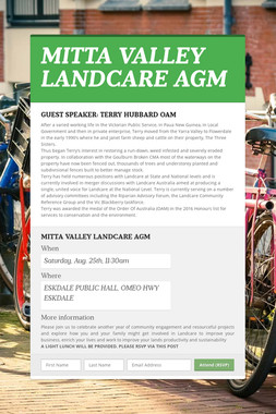 MITTA VALLEY LANDCARE AGM
