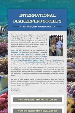 International Seakeepers Society
