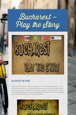 Bucharest – Play the Story