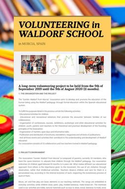 VOLUNTEERING in WALDORF SCHOOL
