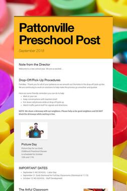 Pattonville Preschool         Post
