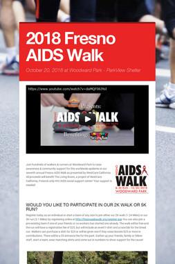 2018 Fresno AIDS Walk