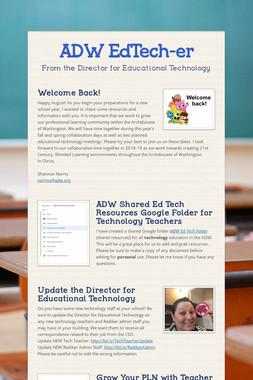 ADW EdTech-er