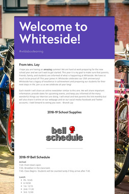 Welcome to Whiteside!