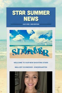 STAR Summer News