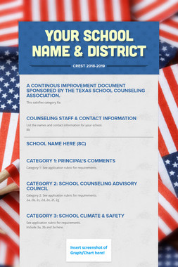 Your School Name & District