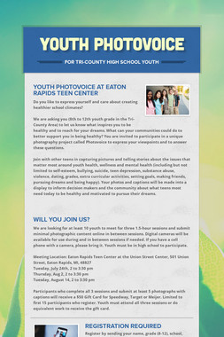 Youth Photovoice