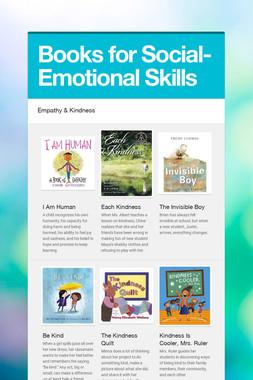 Books for Social-Emotional Skills