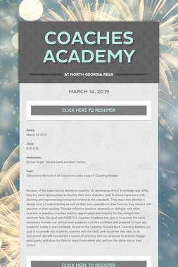 Coaches Academy