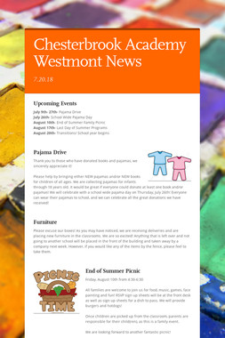 Chesterbrook Academy Westmont News