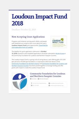Loudoun Impact Fund 2018