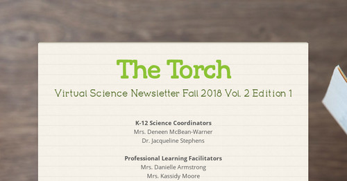 Smore Misrepresentation Of Research >> The Torch Smore Newsletters For Education