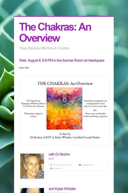 The Chakras: An Overview
