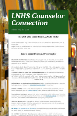 LNHS Counselor Connection