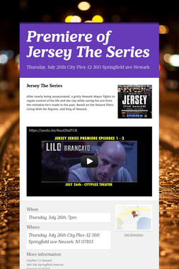 Premiere of Jersey The Series