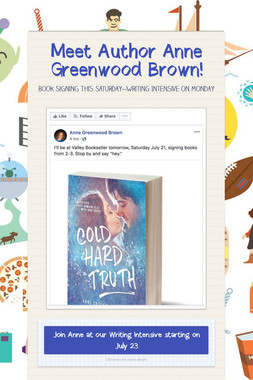 Meet Author Anne Greenwood Brown!