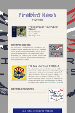Firebird News