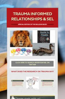 Trauma Informed Relationships & SEL