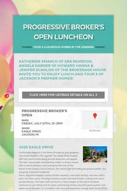 Progressive Broker's Open Luncheon