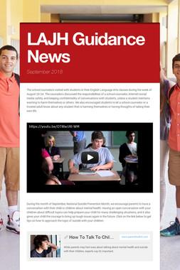 LAJH Guidance News
