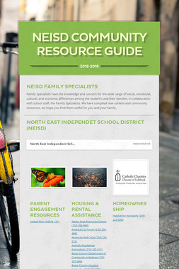 NEISD Community Resource Guide