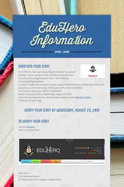 EduHero Information