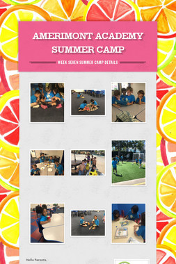 AMERIMONT ACADEMY SUMMER CAMP
