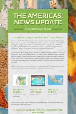 The Americas:  News Update