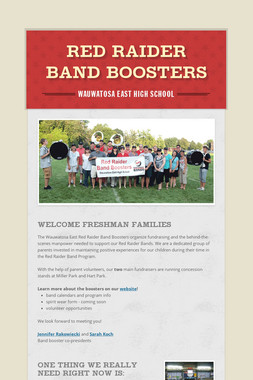 Red Raider Band Boosters