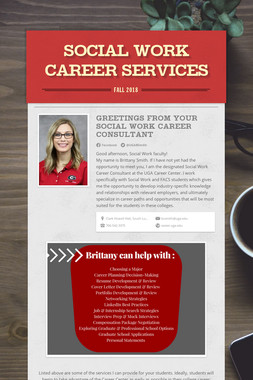 Social Work Career Services