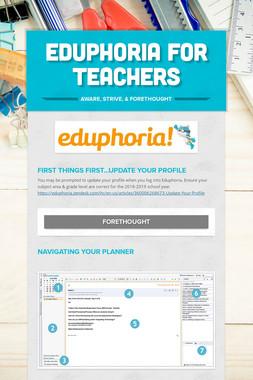 Eduphoria for Teachers