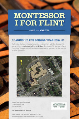 Montessori For Flint