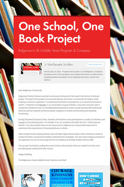 One School, One Book Project