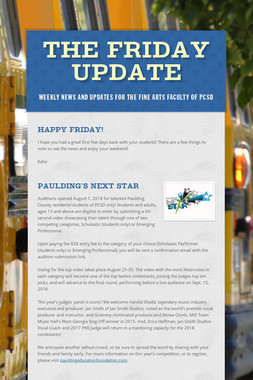 The Friday Update