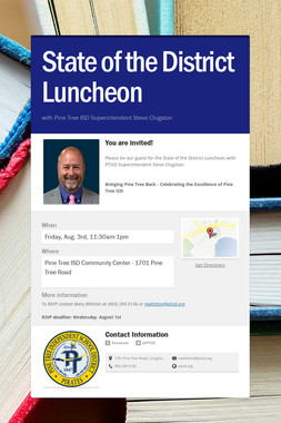 State of the District Luncheon