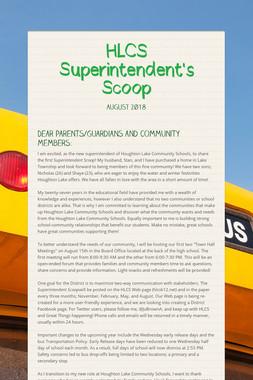 HLCS Superintendent's Scoop