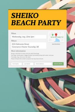 SHEIKO BEACH PARTY