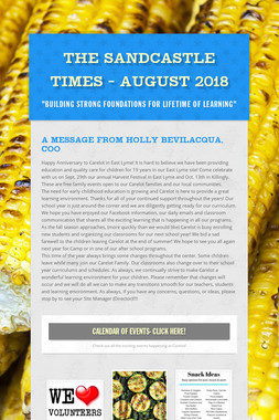 The Sandcastle Times - August 2018