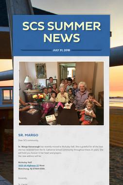 SCS Summer News
