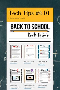 Tech Tips #6.01