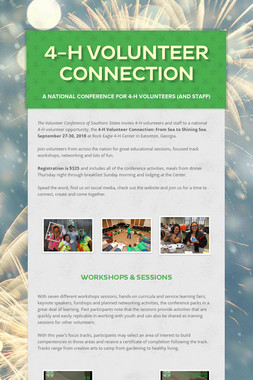 4-H Volunteer Connection