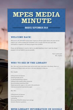MPES Media Minute
