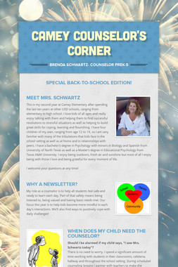 Camey Counselor's Corner